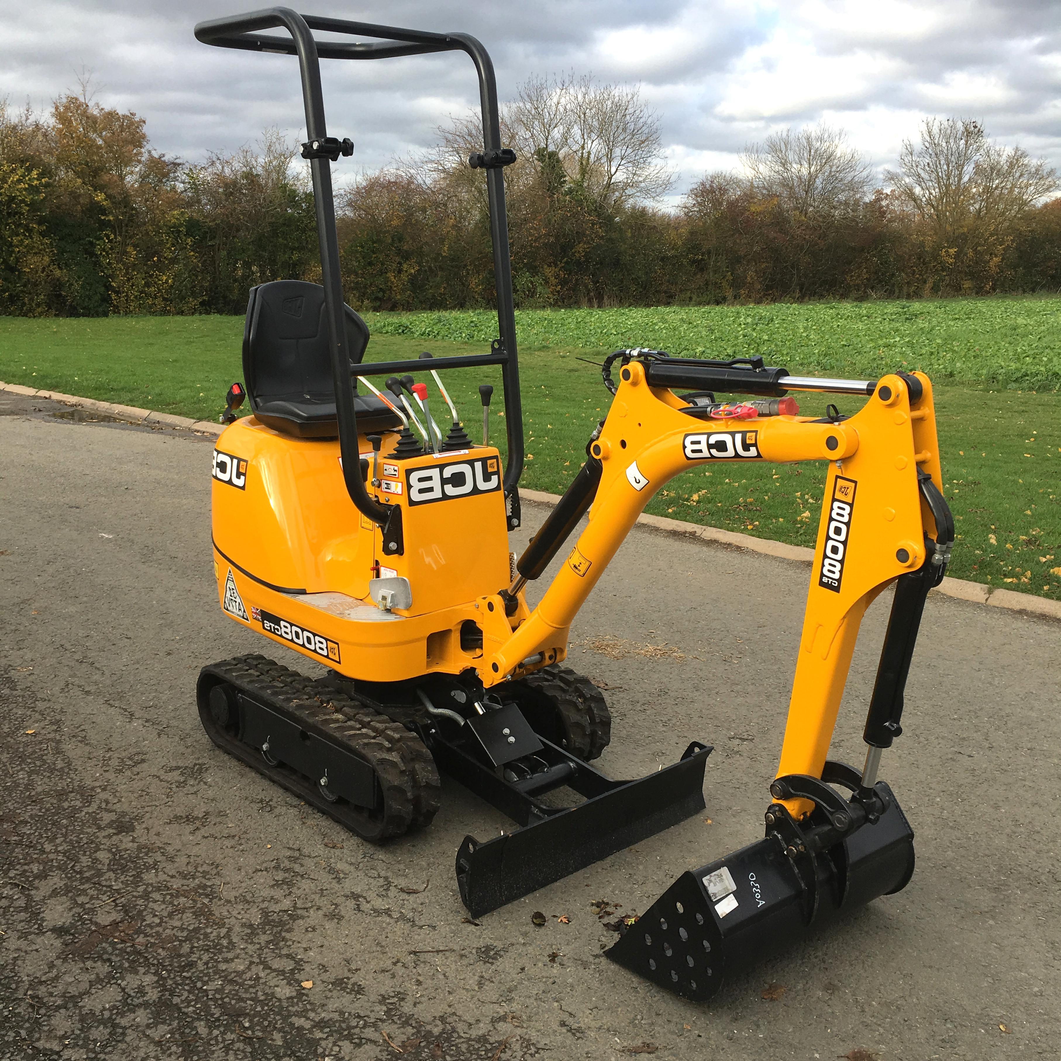mini diggers for sale