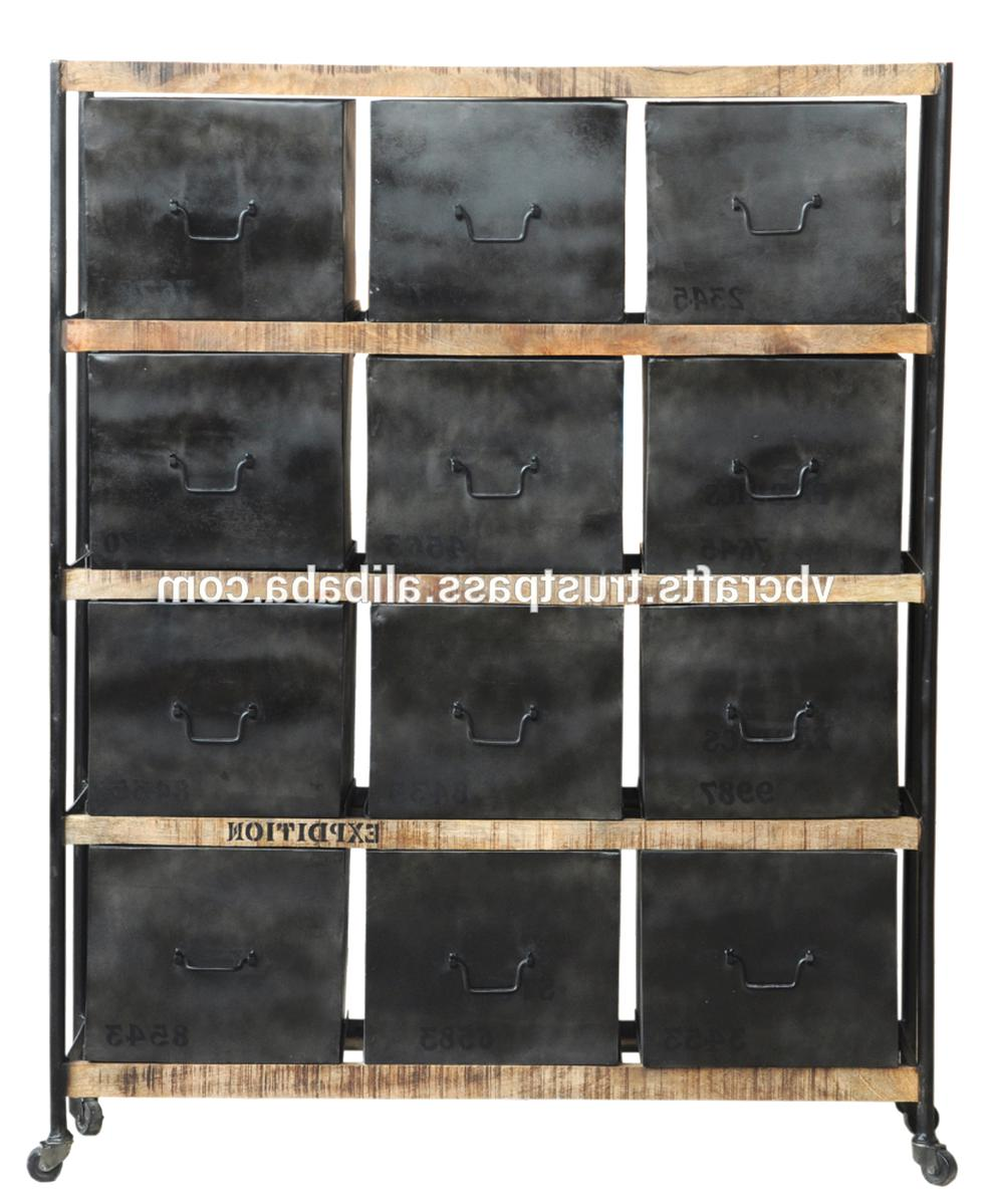 industrial metal drawer cabinet for sale