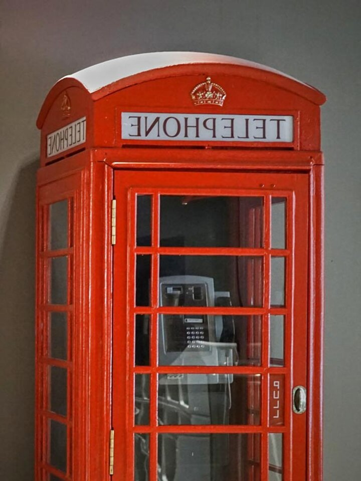k6 red phone box for sale