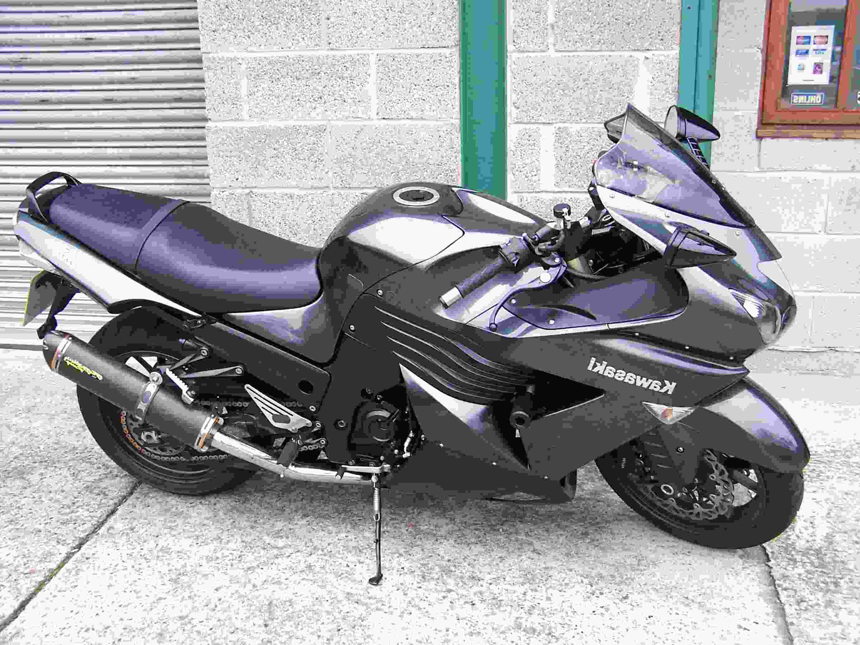 zzr1400 exhaust 2006 for sale