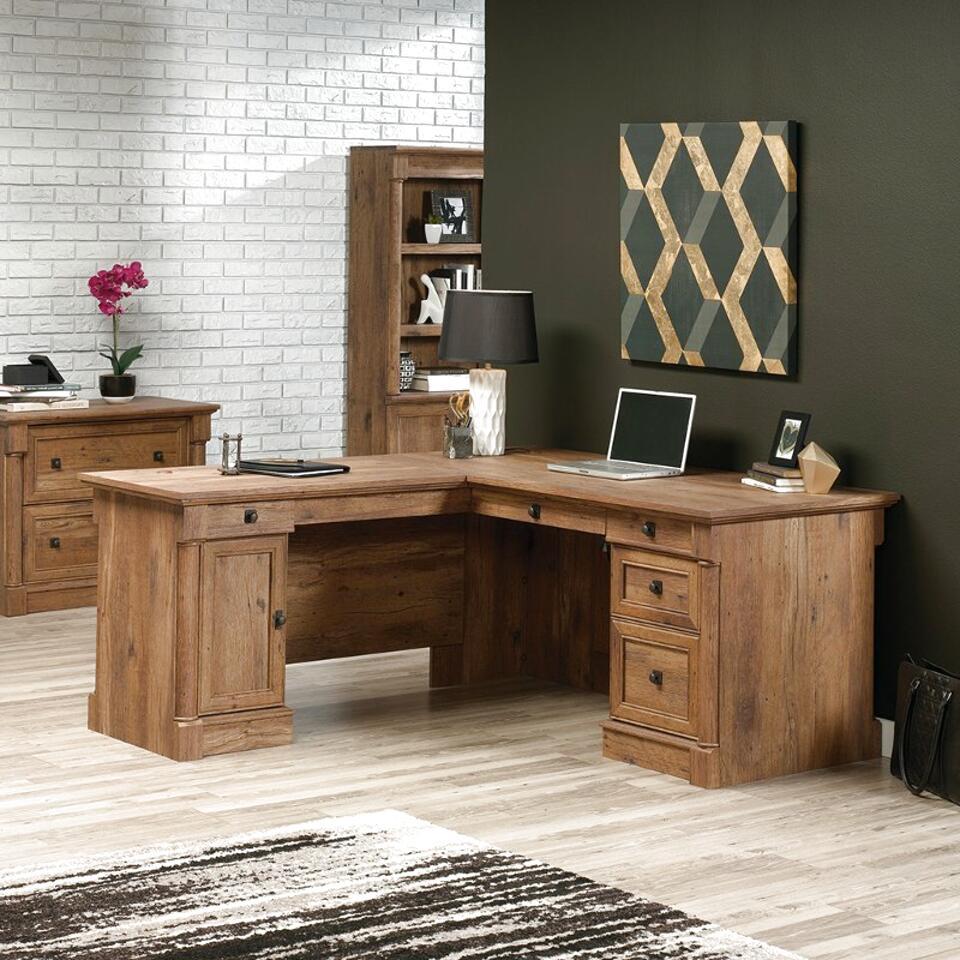 oak corner desk for sale