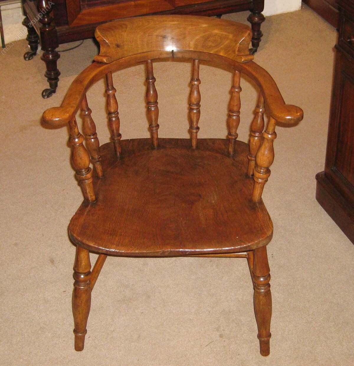 antique captains chair for sale
