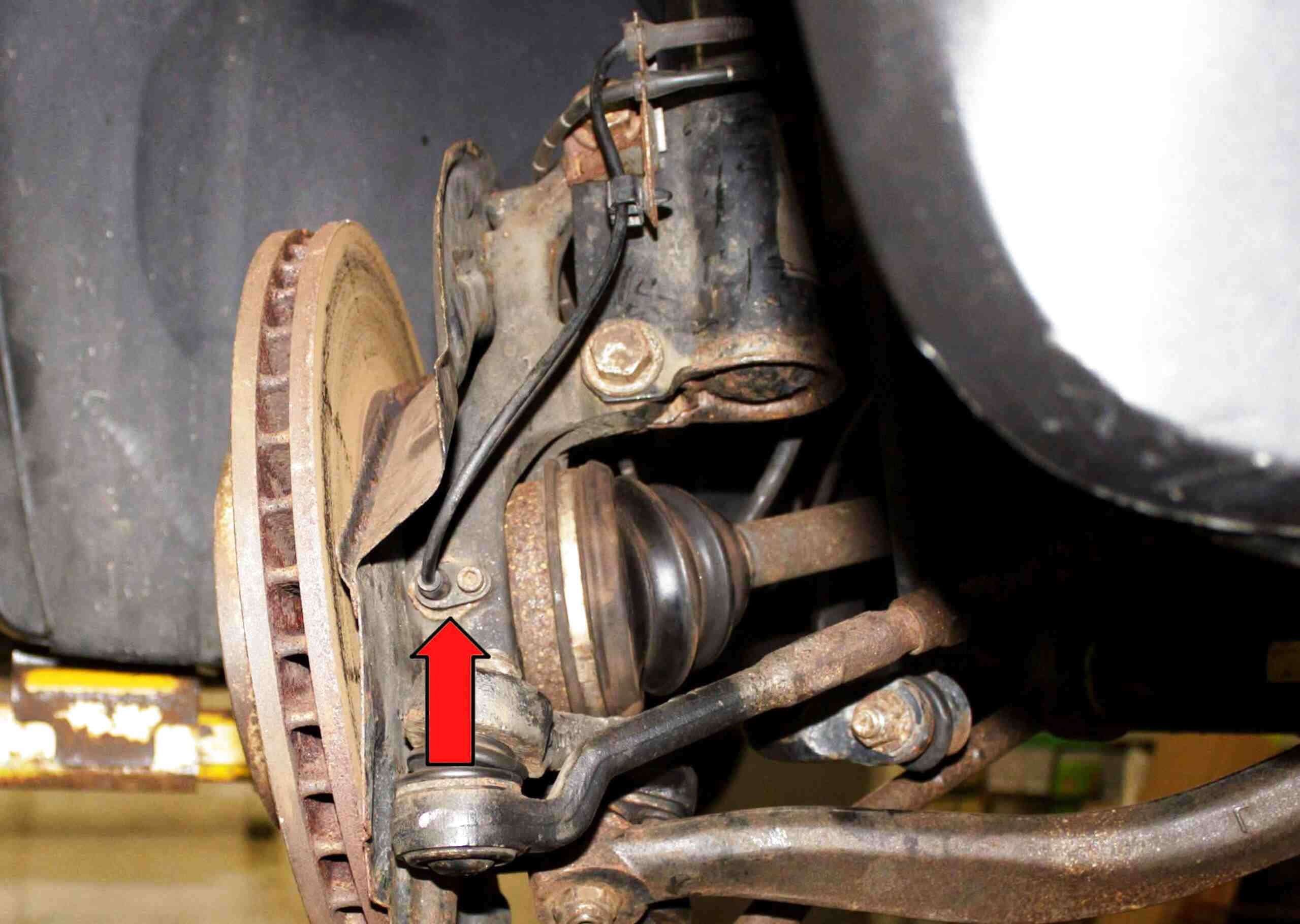 X AUTOHAUX 57470-SMG-E01 Rear Right ABS Wheel Speed Sensor DC 12V