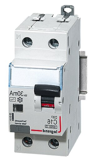 Legrand lexic 6064 13-25a 30mA type c rcbo new in box
