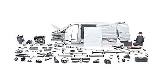 mercedes sprinter parts for sale