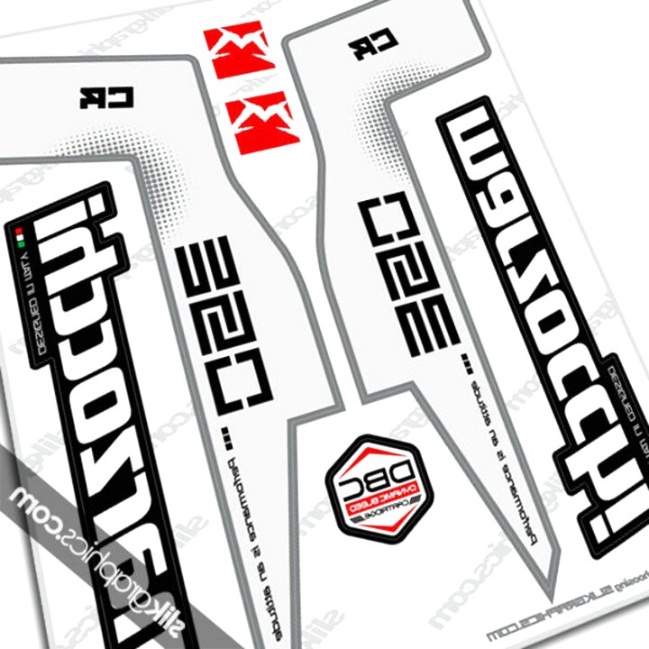 Stickers Marzocchi Bomber Gothic 2003 Single Colour Decals Custom Colours