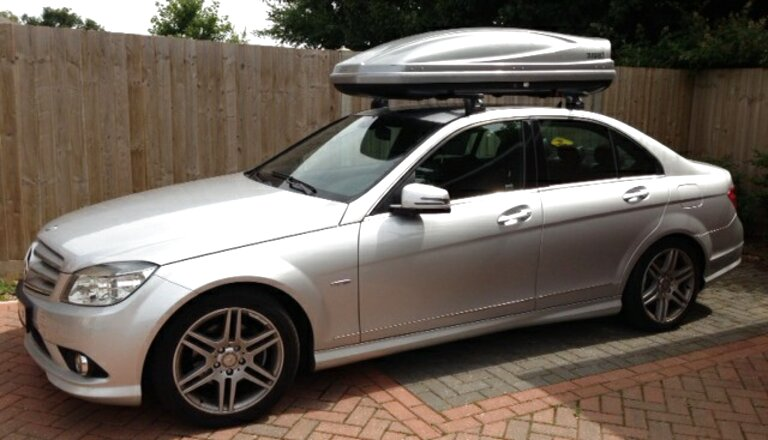 mercedes roof box for sale