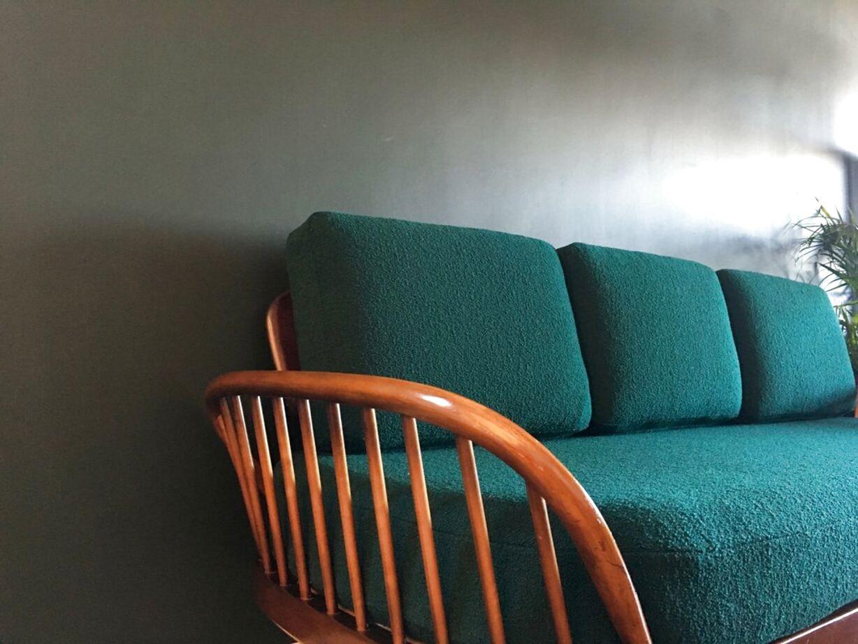 ercol sofa dark for sale