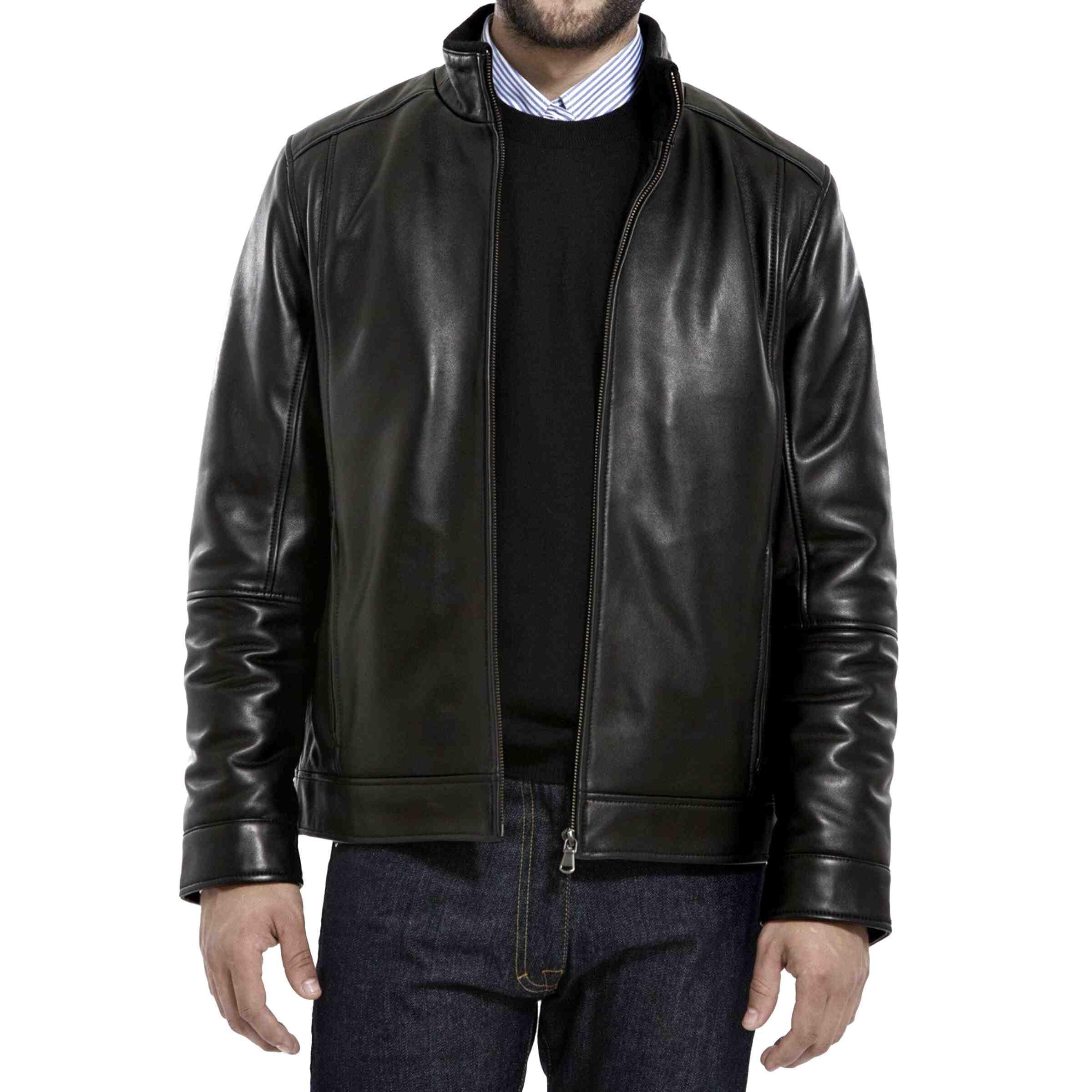 lambskin leather jacket for sale