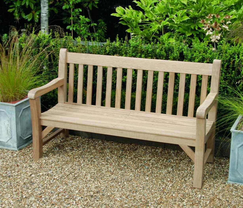 oak garden bench for sale