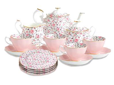 fine bone china tea sets for sale