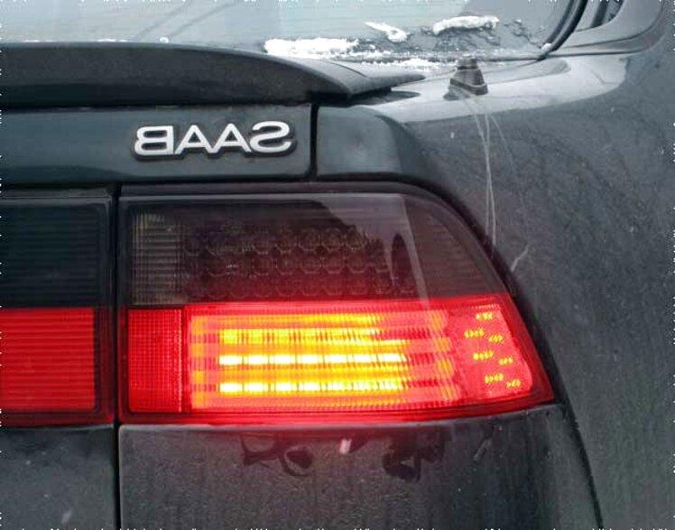 saab 9000 rear light for sale