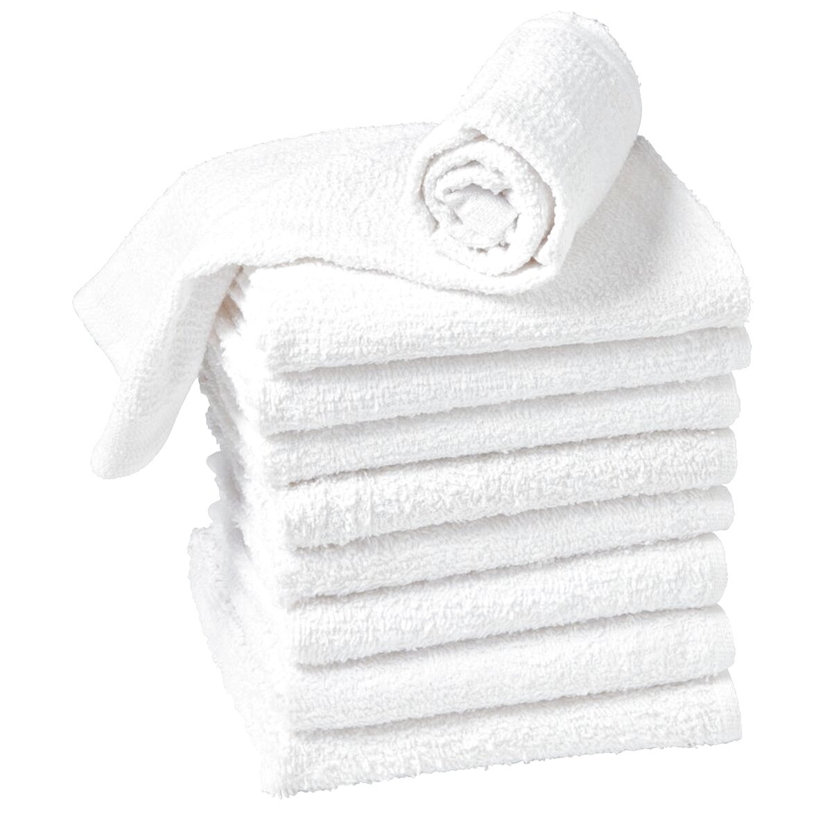 Pack of 12 salon towels Black hand towels 50x85cm aztex Hairdressing Towels