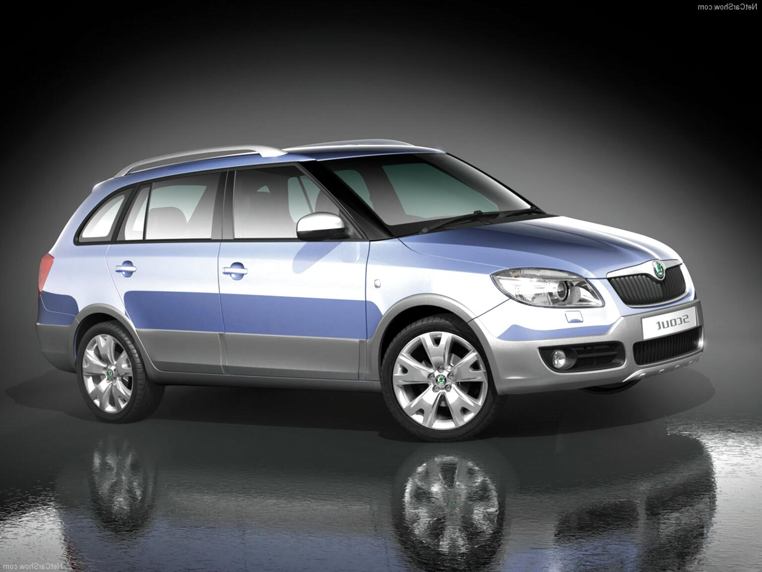 fabia scout for sale