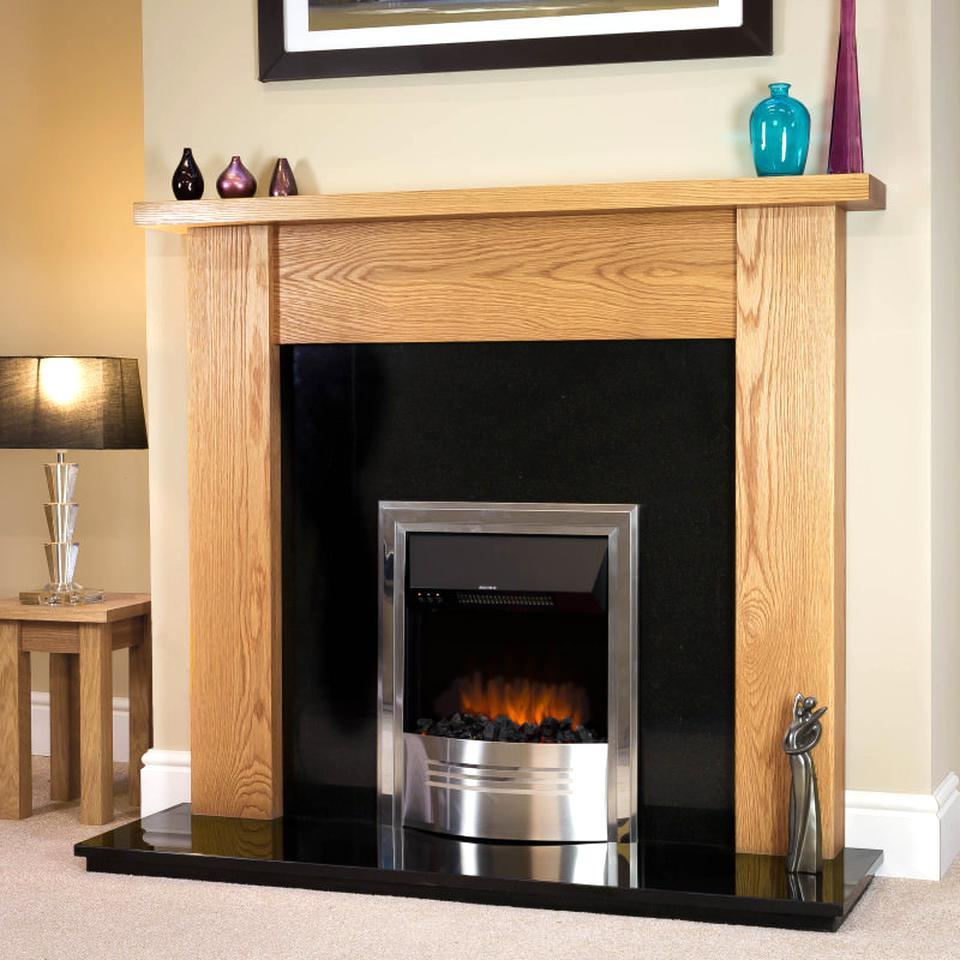 oak fireplace for sale