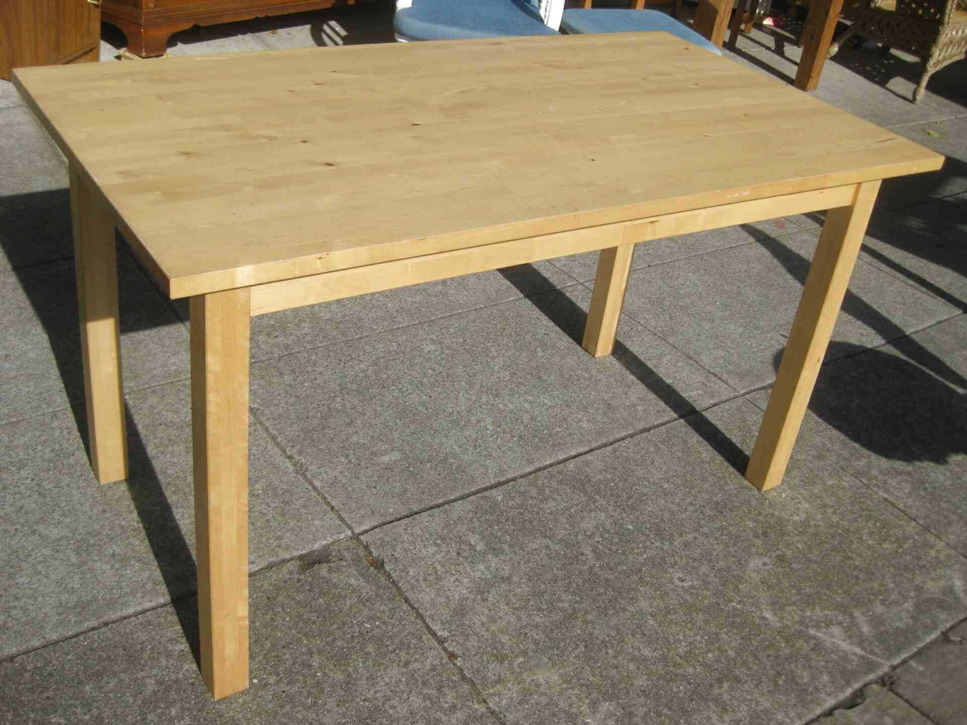 Ikea Birch Table For Sale In Uk View 37 Bargains