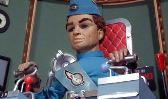 thunderbirds puppet for sale