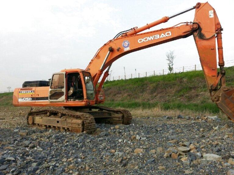 daewoo excavator for sale