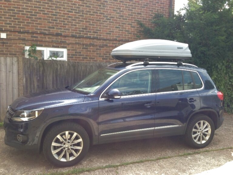 vw tiguan roof box for sale