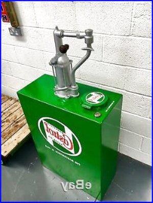 vintage castrol oil pump for sale