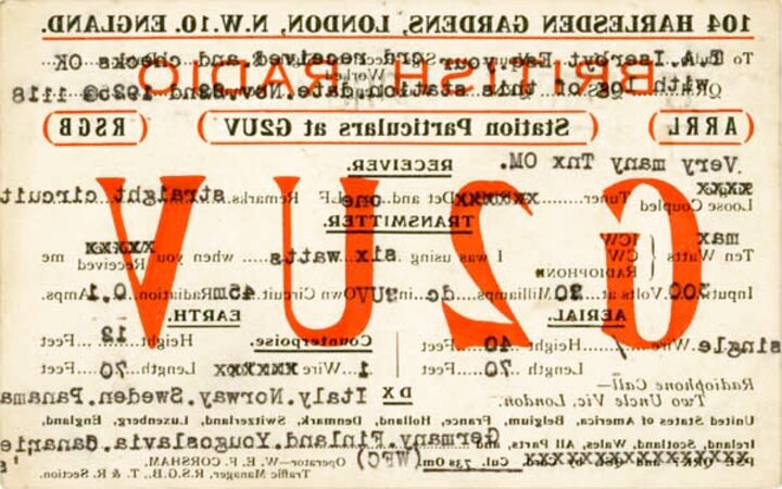 qsl cards for sale