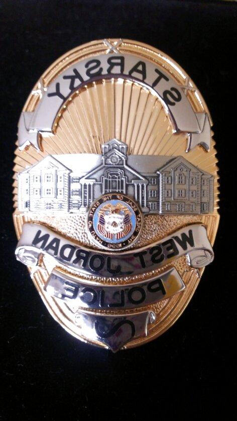 Capricornone President White School Shield Badge