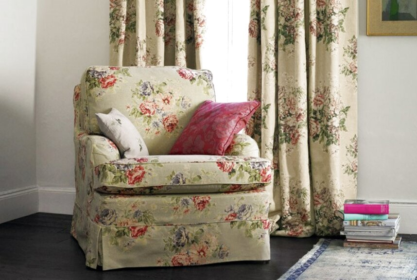 sanderson curtain fabric for sale