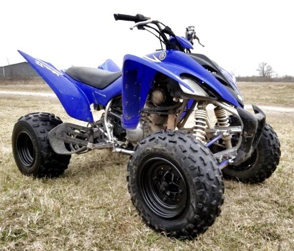 yamaha raptor 350 quad for sale