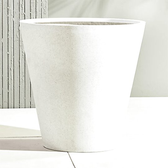 large white outdoor planters for sale