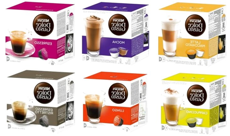 dolce gusto coffee pods for sale