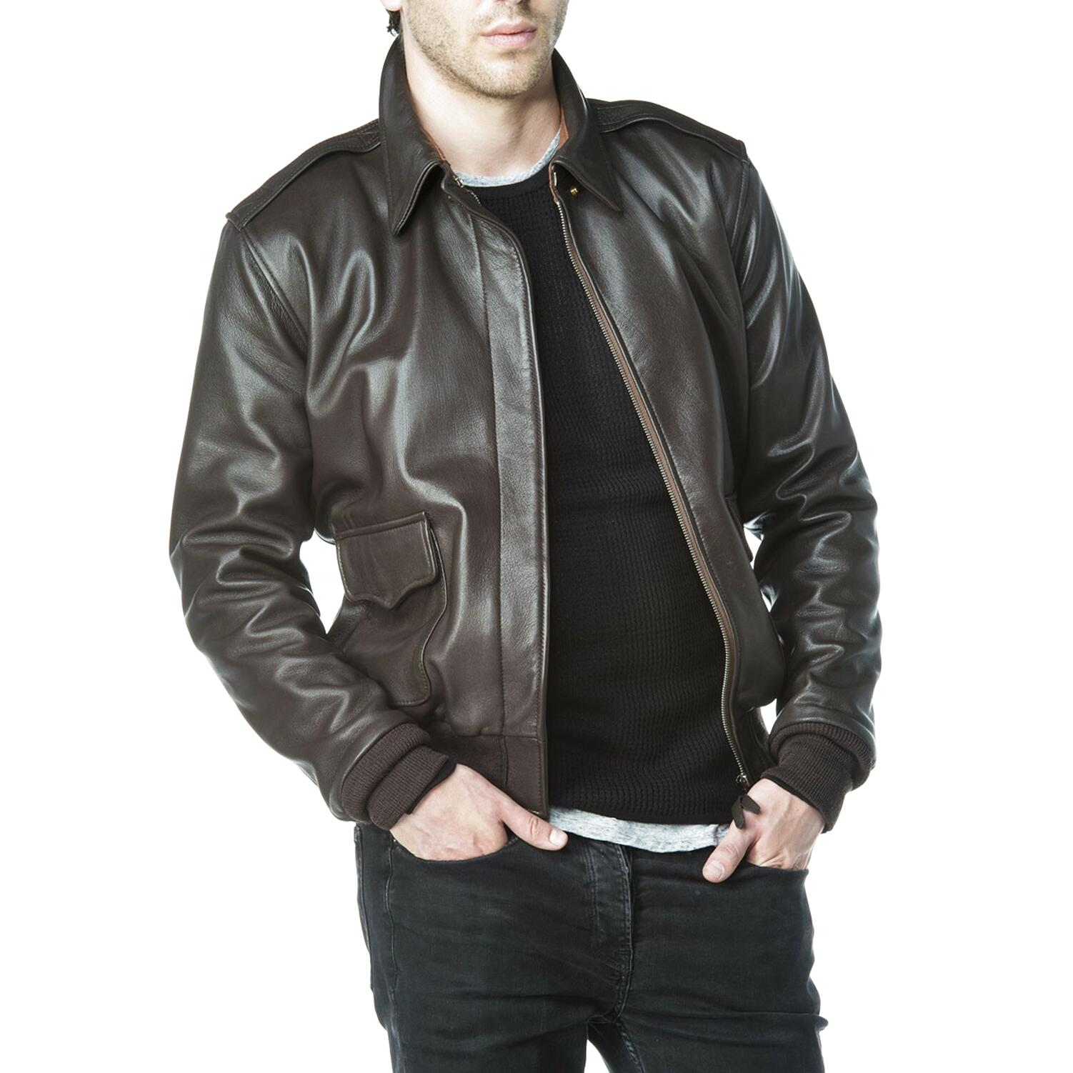 a2 leather jacket for sale