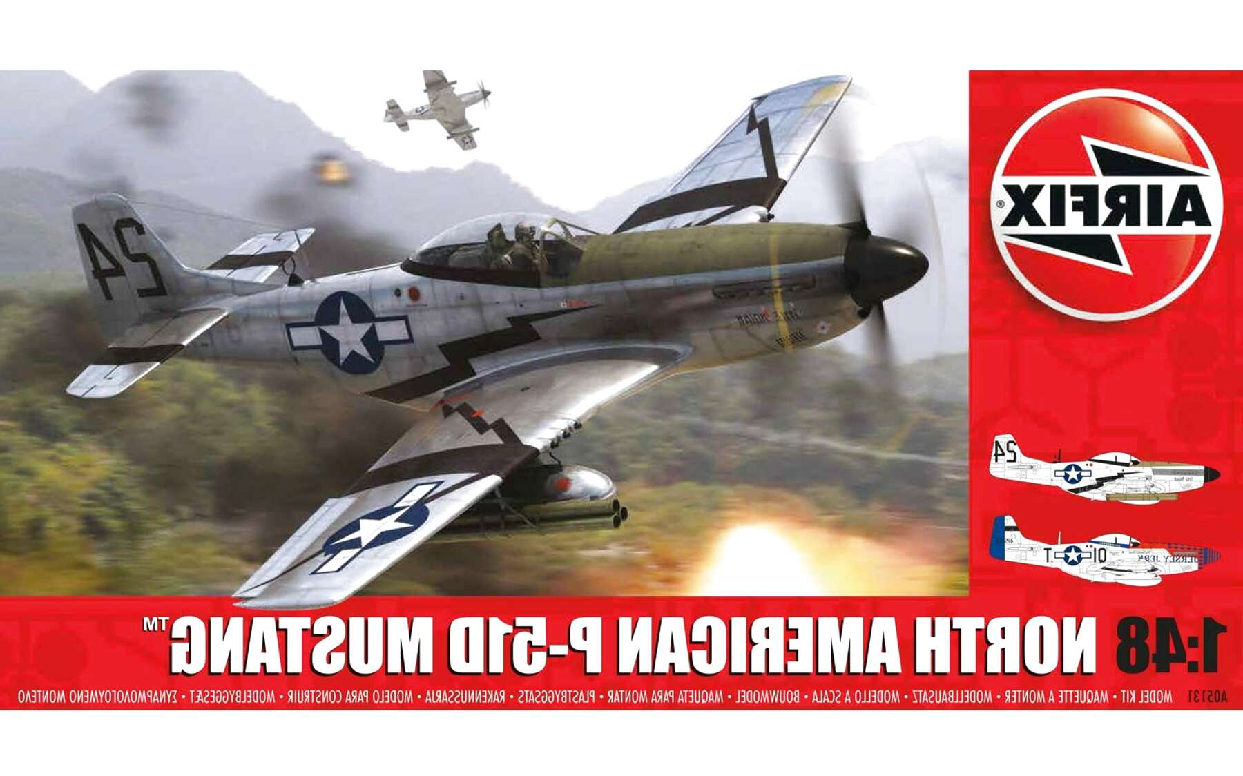 airfix p 51d mustang for sale