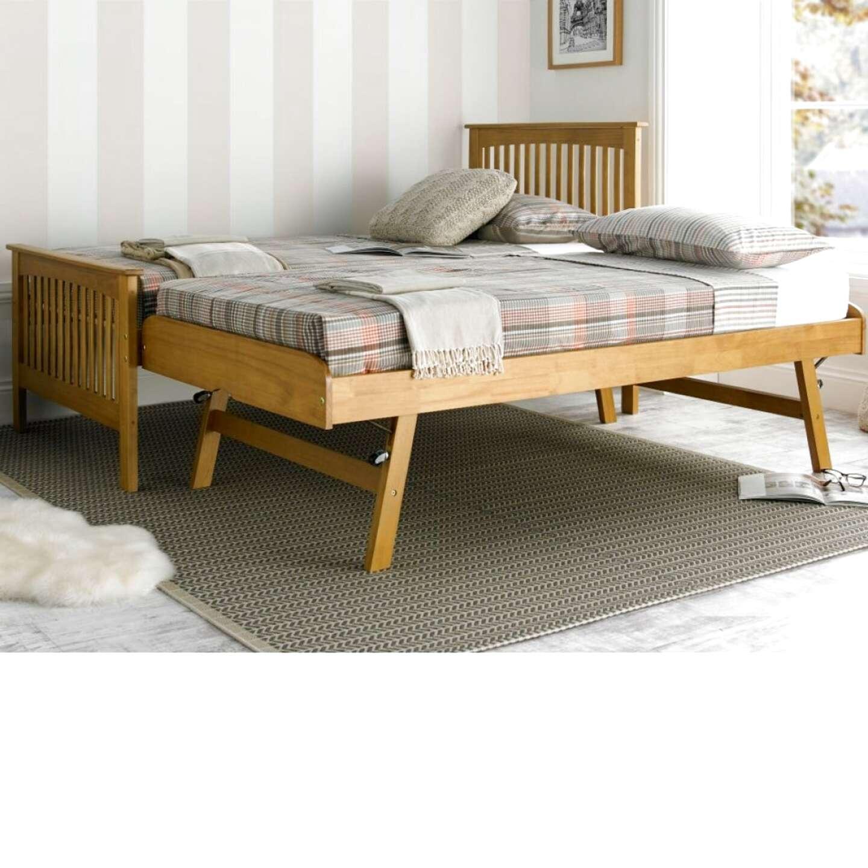 oak bed trundle for sale