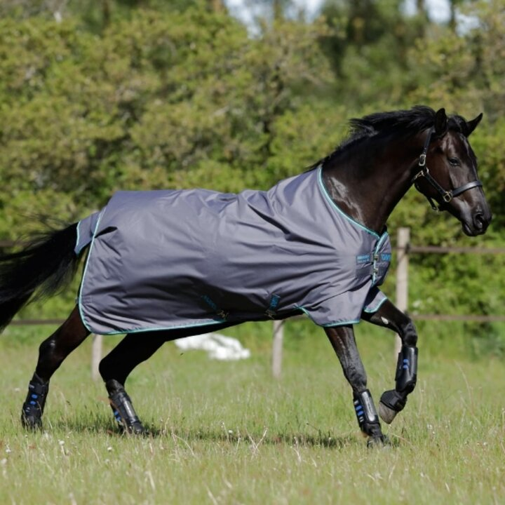 6`0, Red Star 4`6 up to 7`3 Canter Medium Weight Red Star Horse Pony Turnout Rug