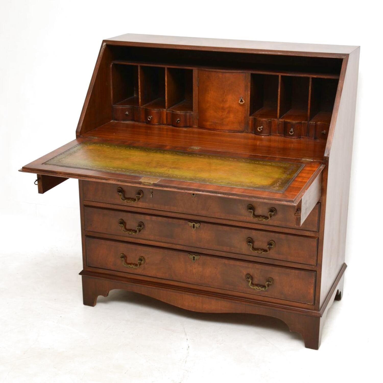 mahogany writing bureau for sale