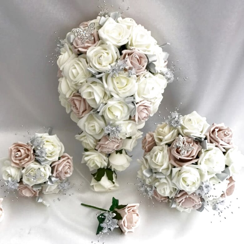 artificial wedding flowers for sale