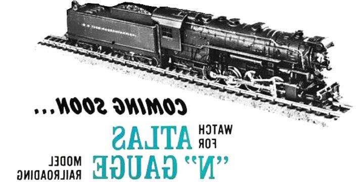 n gauge atlas for sale