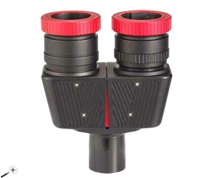 BST starguider binoviewer con 3x y 1.85x Barlow y 32mm PL oculares