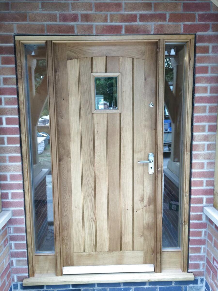 oak external doors for sale