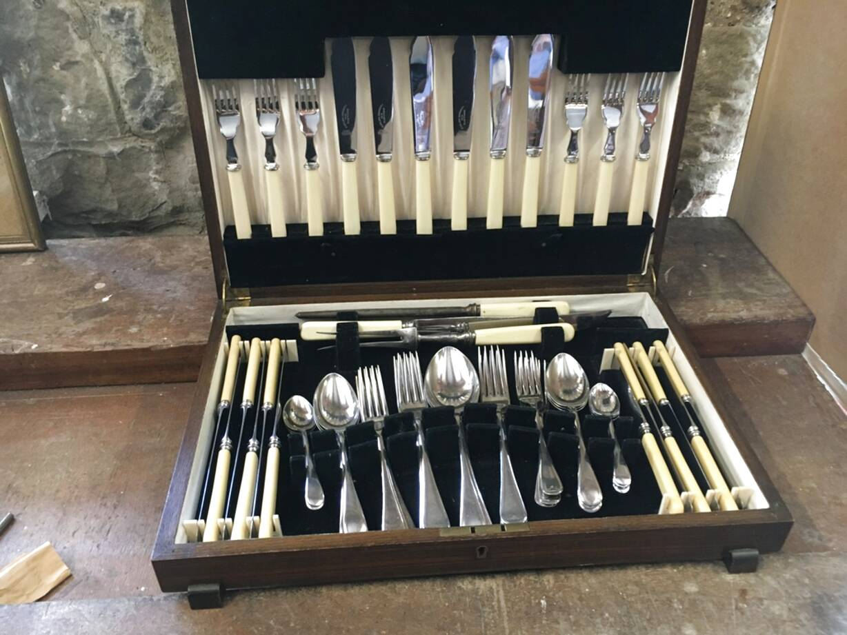 sheffield cutlery canteen for sale