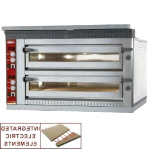 electric twin deck pizza oven for sale