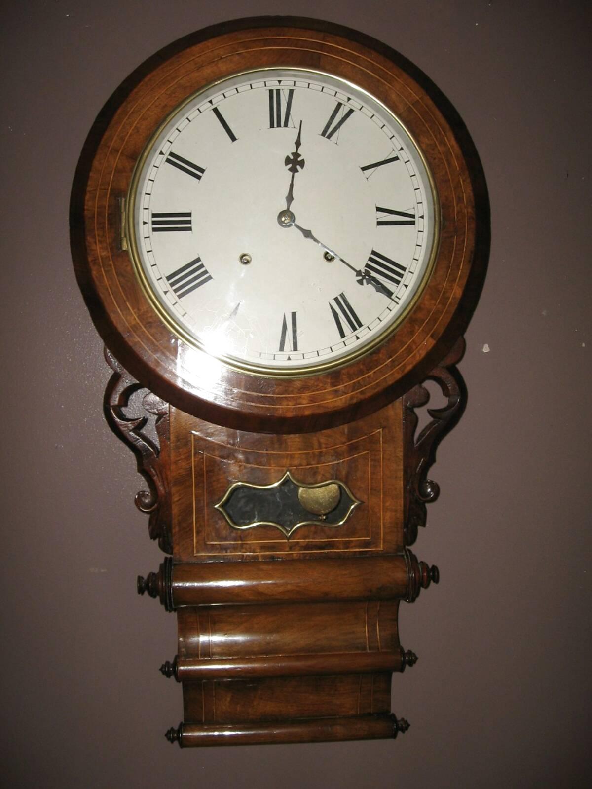 Drop Dial Clock For Sale In Uk 59 Used Drop Dial Clocks