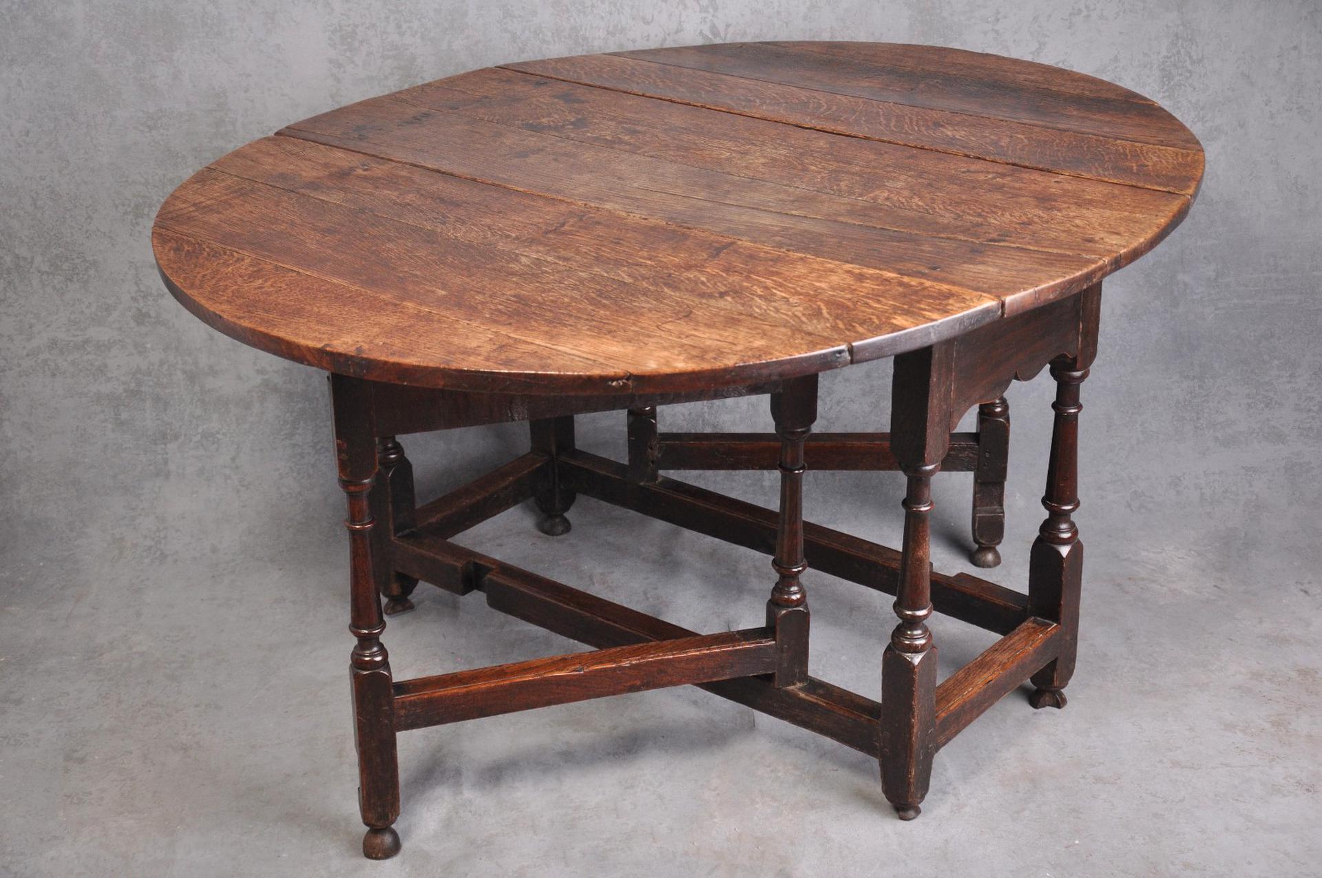 oak gate leg table for sale