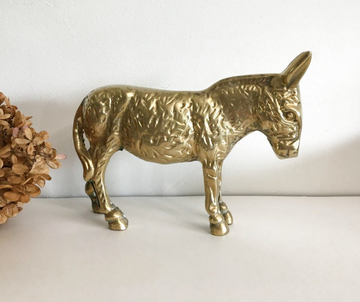brass donkey for sale