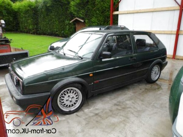 oak green mk2 golf gti for sale