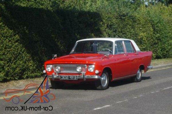 Ford Zodiac Mk3 1962-1966 WinterPRO Car Cover