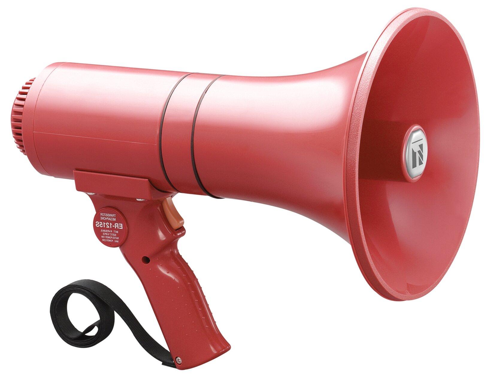 megaphone siren for sale
