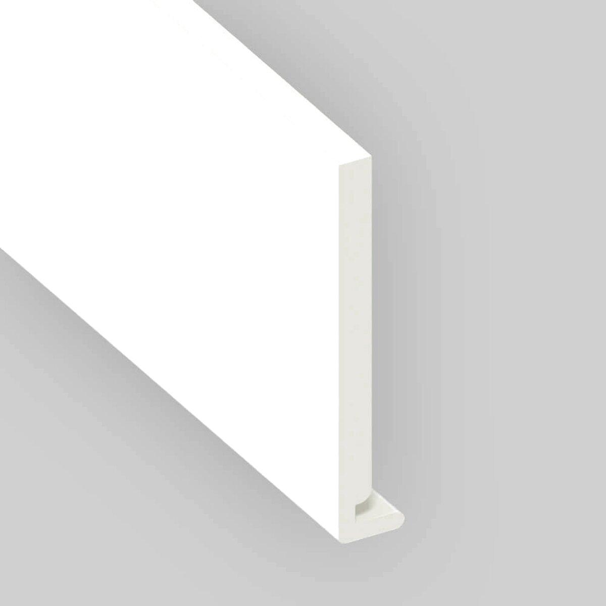 Innovo 2 Metre White 175mm Wide Plastic PVC Window Cill Sill Facia Cover Board
