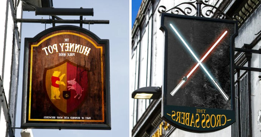 pub signs for sale
