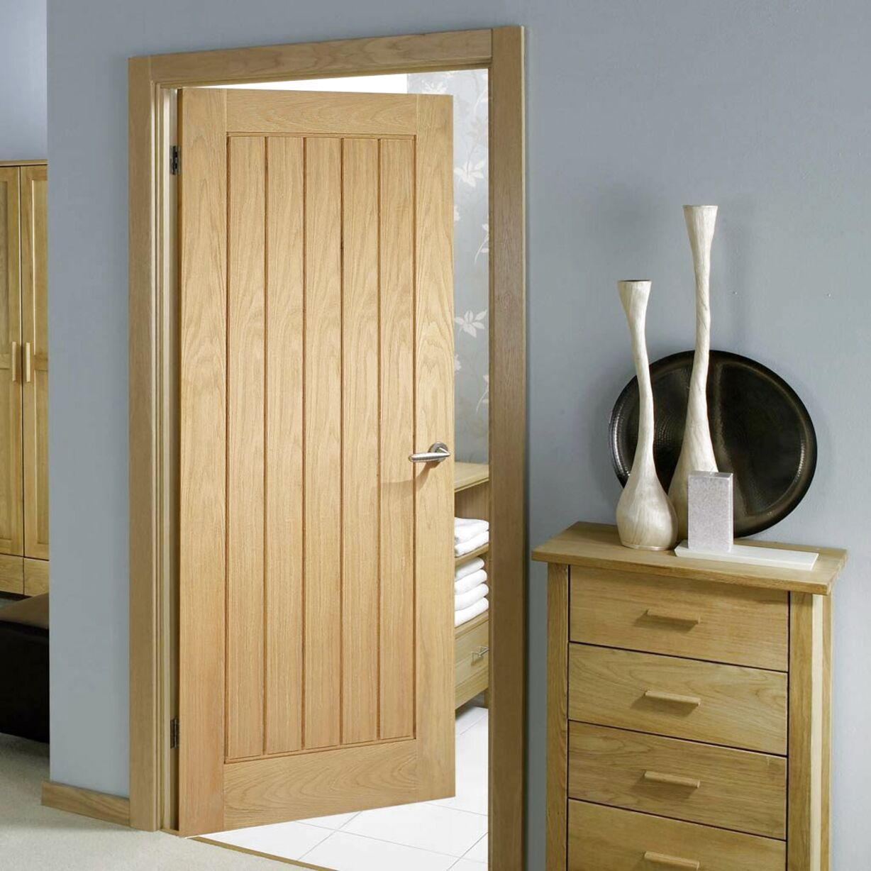 oak fire door for sale